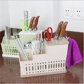 韩式多功能塑料筷笼沥水筷子筒厨房用品刀架餐具置物架家用筷子架