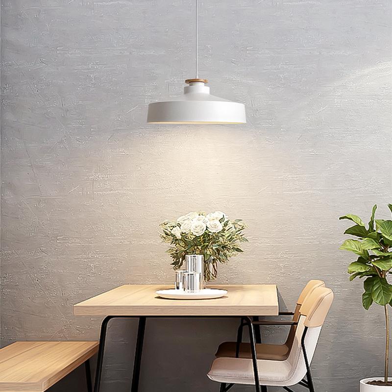 KC灯具现代简约创意个性led单头餐厅灯卧室吧台餐桌家用北欧吊灯