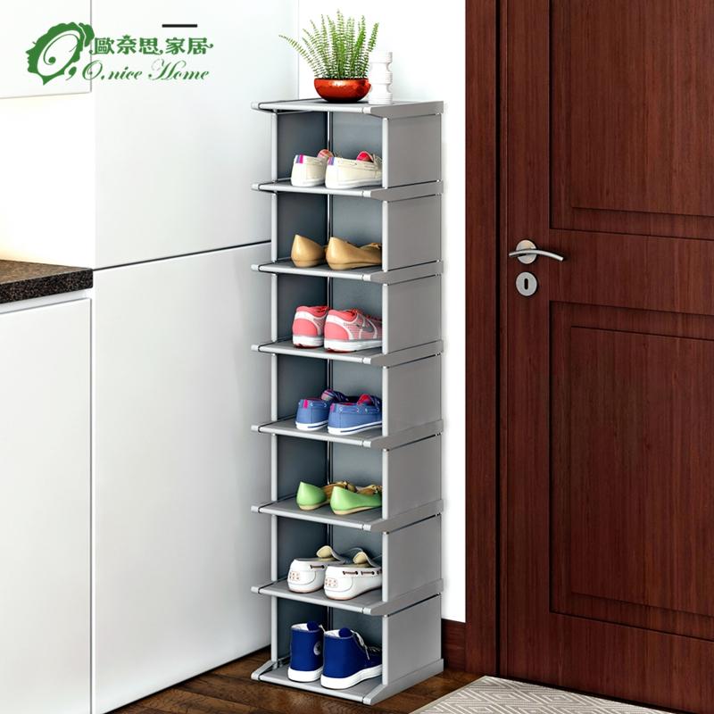 鞋架简易多层放门口家用省空间置物架经济型防尘收纳鞋柜小鞋架子