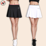 New sports pants skirt female summer quick-drying badminton tennis fitness yoga running half-length skirt breathable pleated skirt