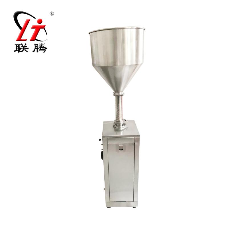 联腾牌 立式气动膏体两用灌装机 全气动灌装机 液体灌装机 膏体