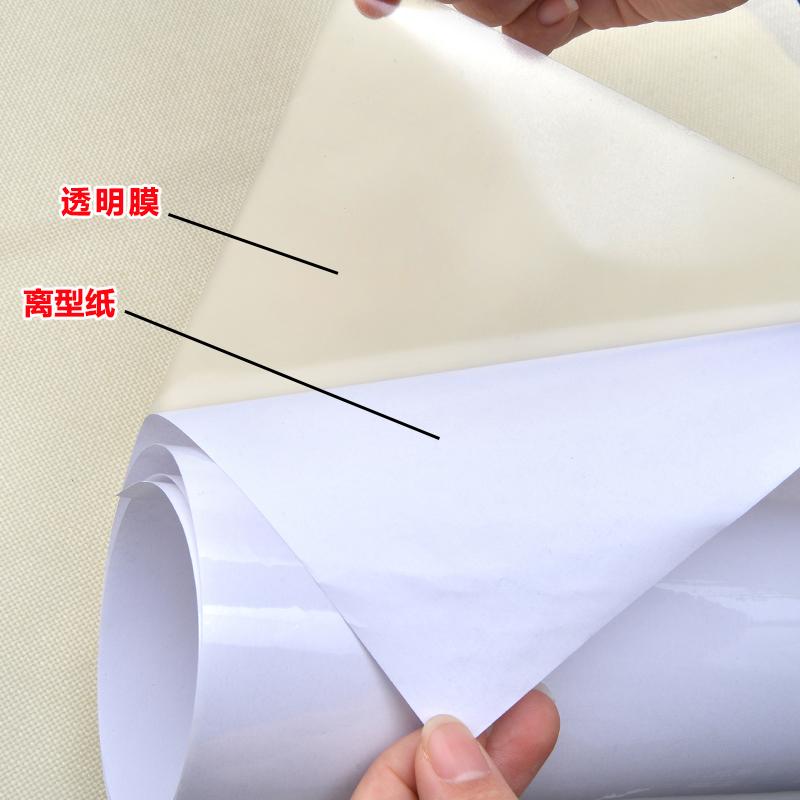 透明厨房防油贴纸耐高温瓷砖墙贴灶台防水防油自粘油烟机橱柜壁纸