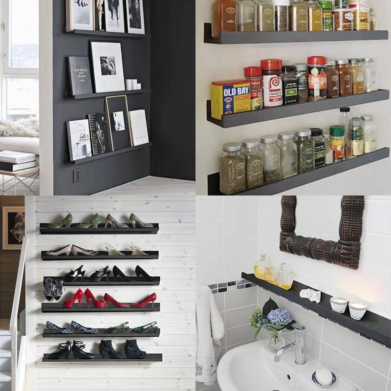 免打孔多功能厨房置物架壁挂省空间厨房收纳架家用调料架 凯鹰