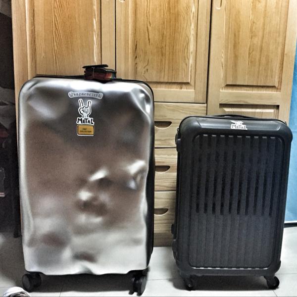 28 24 20 意大利旅行箱个姓拉杆箱万向轮超轻破损行李箱男女登机箱