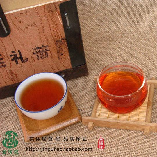 包邮 木盒装 克 1000 熟茶 年勐海特级宫廷普洱散茶 00 云南普洱茶