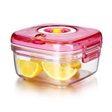 Lion Waite vacuum box student fruit box fresh box plastic fruit microwave oven heating office workers lunch box