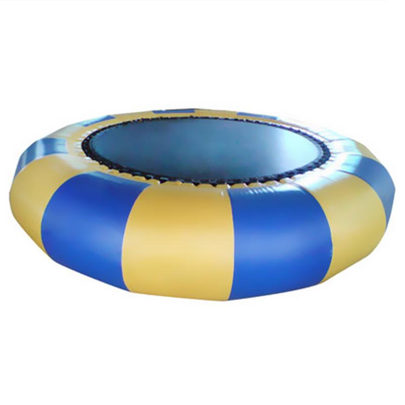 充气水上蹦蹦床弹跳床滑梯跷跷板儿童百万海洋球池游乐园玩具设备