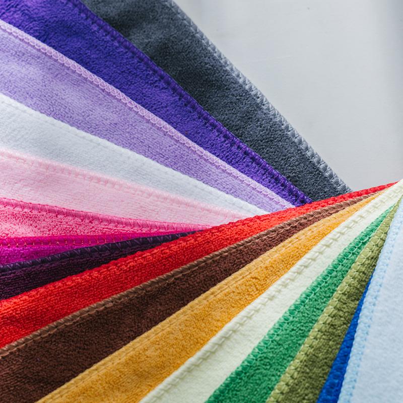 美容院毛巾10条装专用包头毛巾加厚强吸水干发巾定制logo发廊毛巾