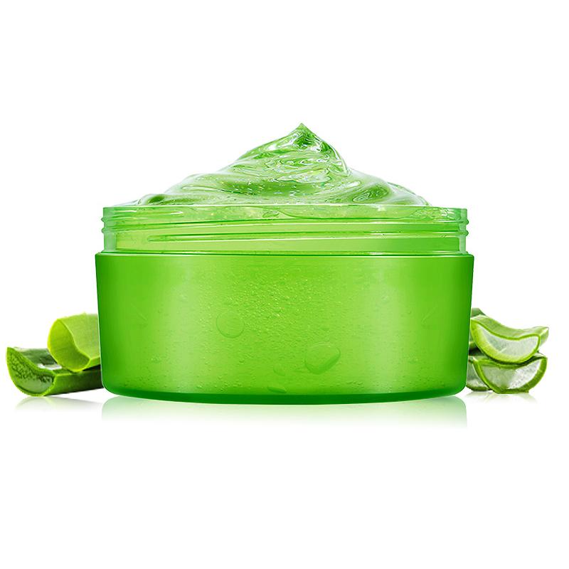 芦荟胶官方正品补水保湿乳液素颜面霜祛痘痘印舒缓晒后修护