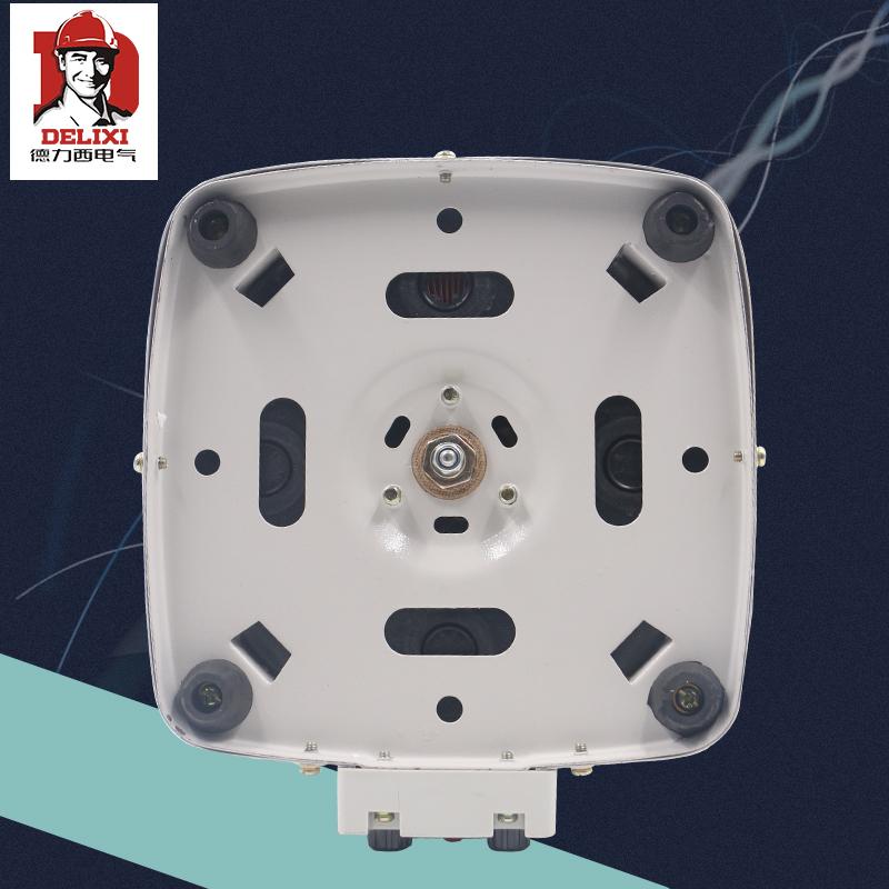 德力西 单相3000w 输入220v调压器TDGC2 3kva 可调0v-250v家用