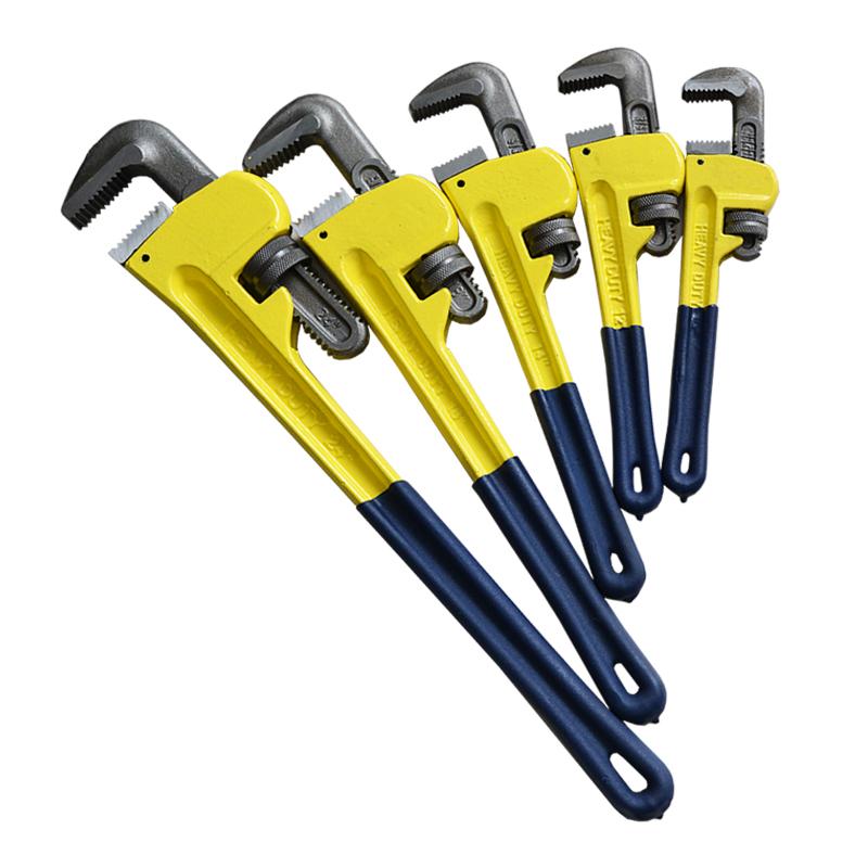 管子钳 美式重型管钳修水暖管道万能扳手14寸管钳18寸管钳