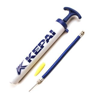 正品科牌一體打氣筒針式手動充氣筒帶氣針 足球排球籃球打氣筒
