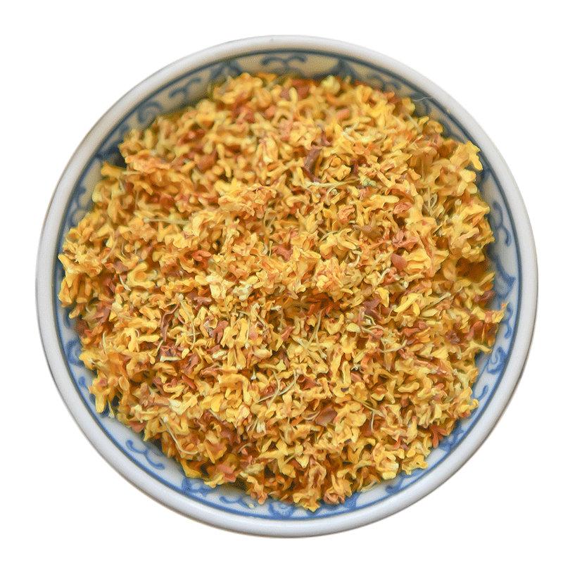 桂花茶特级新鲜食用浓香型干桂林无熏硫金桂花草茶叶批 500g 桂花
