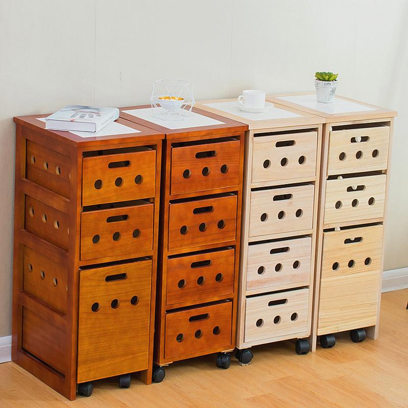 实木餐边柜角柜移动菜柜微波炉柜餐厅厨房储物柜现代简约北欧酒柜