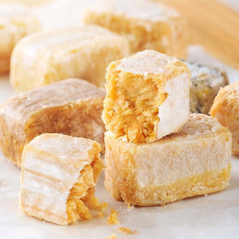 徐福记酥心糖花生酥糖喜糖果混合多口味散装糖果零食品大礼包怀旧