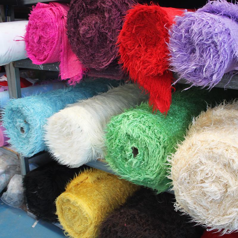 半米價 5cm灘羊毛長毛絨布料  靠墊 嬰兒攝影背景布 拍照道具毛毯