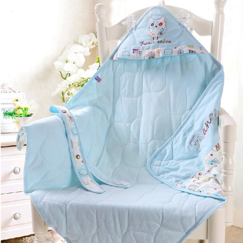 新生儿包被纯棉初生婴儿抱被春秋夏季薄款抱毯襁褓巾被子宝宝用品