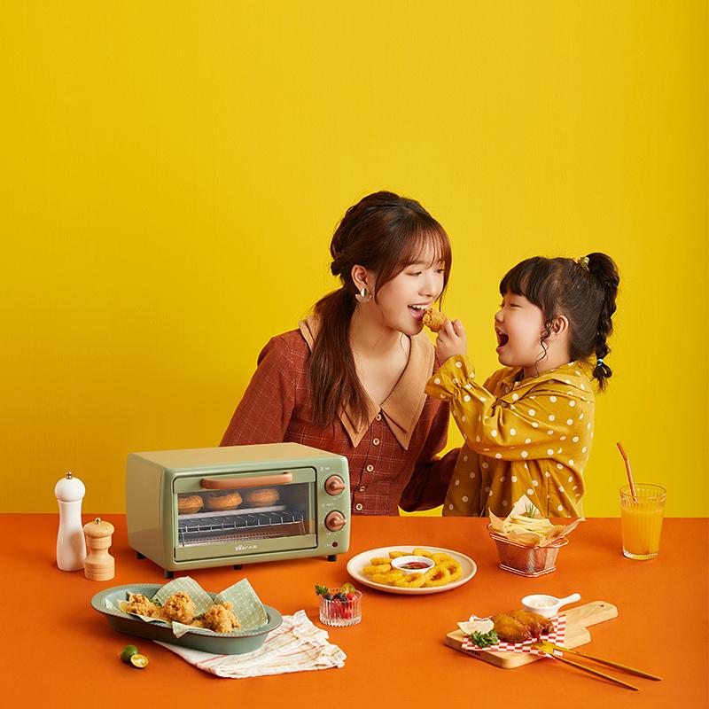 小熊烤箱家用小型小烤箱烘焙多功能全自动电烤箱迷你官方旗舰店