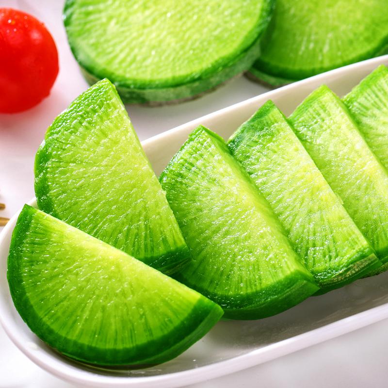 潍坊萝卜水果萝卜甜脆水果型潍县沙窝青萝卜10斤新鲜天津生吃正宗