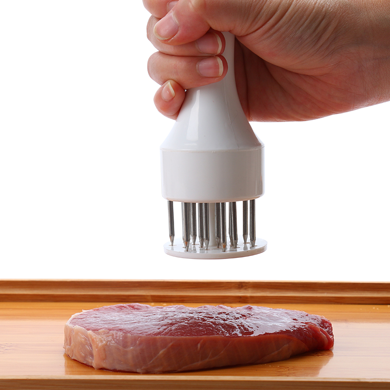 不锈钢敲肉锤松肉针嫩肉针断筋刀牛排松肉器牛排锤子嫩肉宝牛筋刀