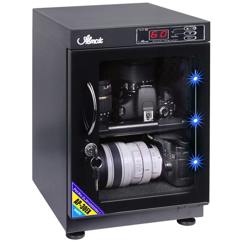 台湾爱保电子防潮箱30/40/50L单反相机镜头邮票干燥箱镜头除湿柜