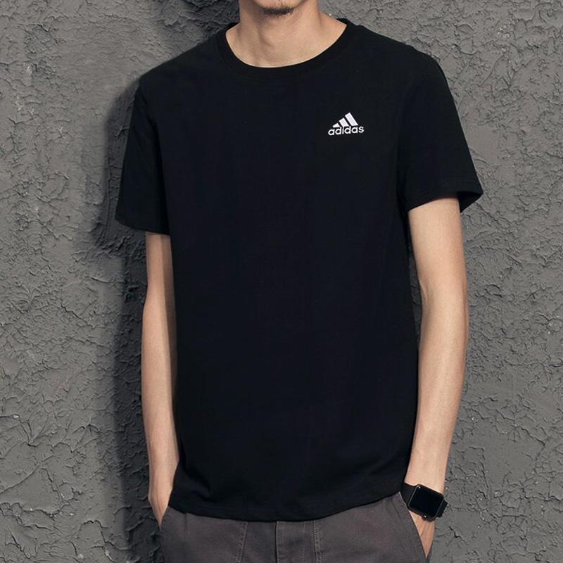 阿迪達斯男裝2019夏季新款運動訓練休閒排汗透氣短袖T恤AZ4076