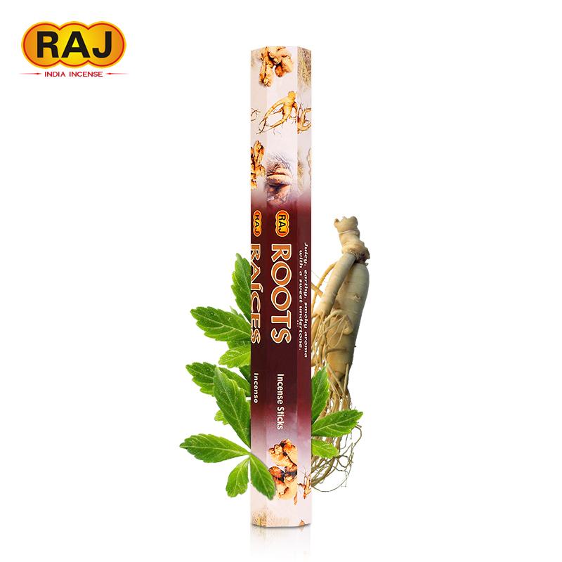 RAJ印度香 參味ROOTS 正品印度原裝進口手工衛生香薰薰香線香146