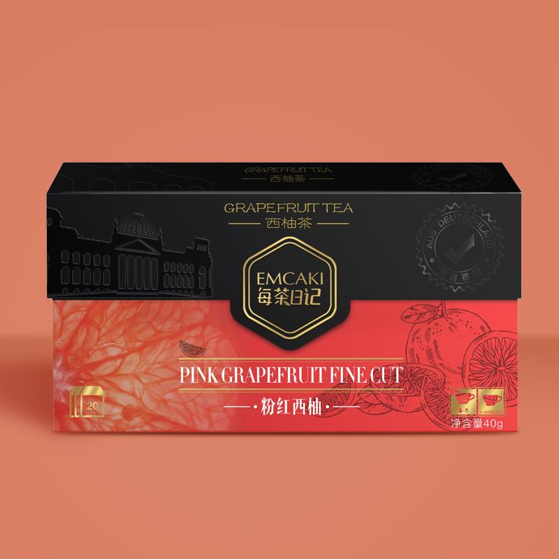 每茶日记西柚水果茶苹果菠萝柚子花茶柚子甘草花果茶包干冷泡茶