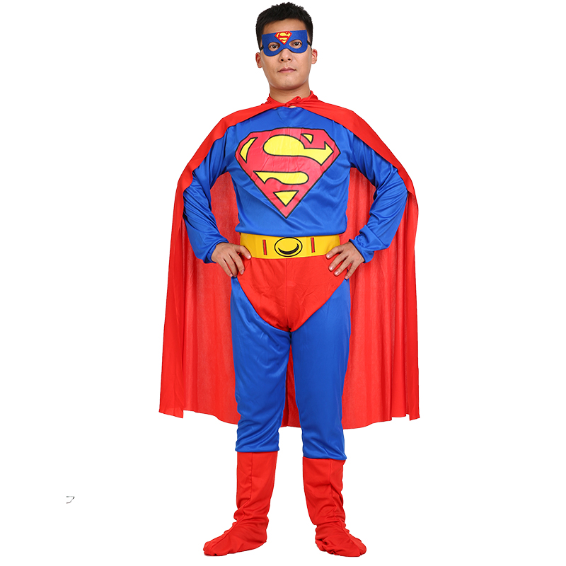 cos超人服装儿童男女化妆舞会成人表演出衣服连体无敌超人亲子装