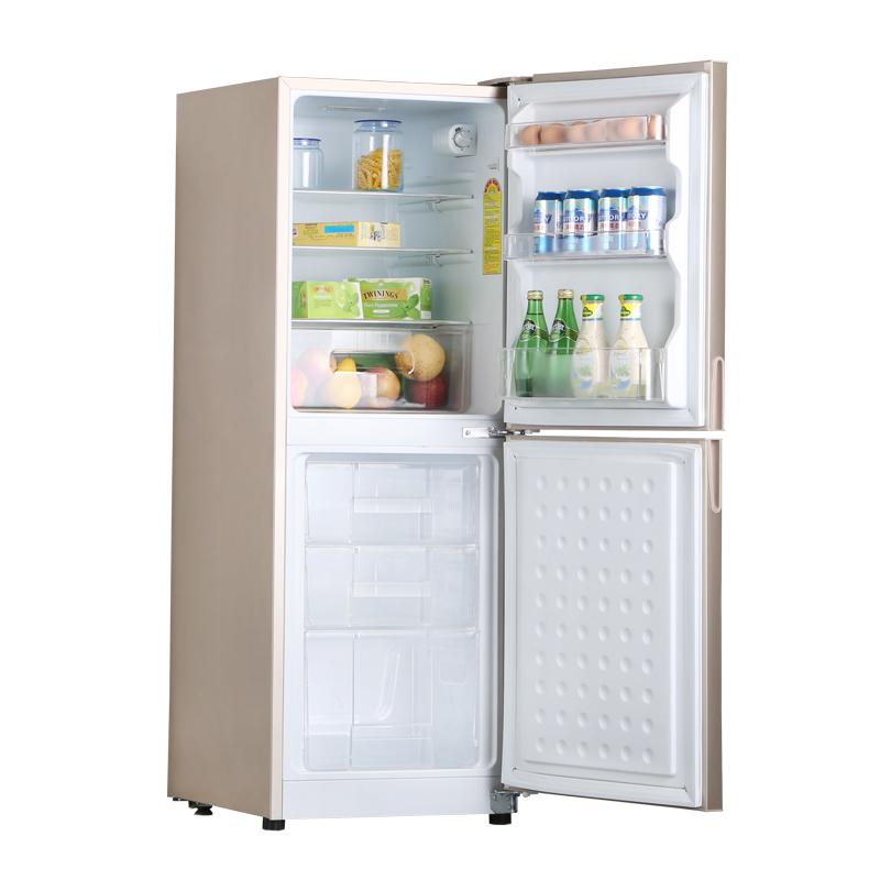 家用节能型小双门冰箱 两门电冰箱 匀冷双门冰箱 158U BCD 尊贵