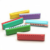 Children's harmonica playing musical instrument toy 10-hole single-row environmentally friendly material Orff music teaching aids with sheet music