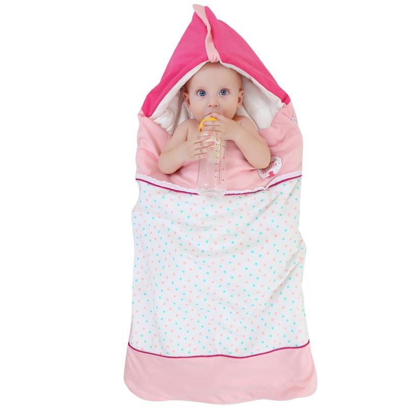 格林博士婴儿抱被 秋冬婴儿防踢被新生儿抱被被式盖毯