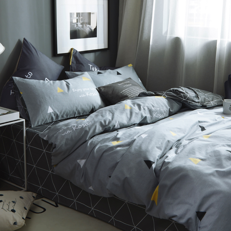 网红款床单三件套床笠床上用品