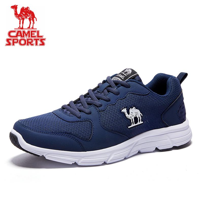 骆驼运动鞋男子秋季透气网面跑鞋青少年休闲鞋女鞋学生轻便跑步鞋
