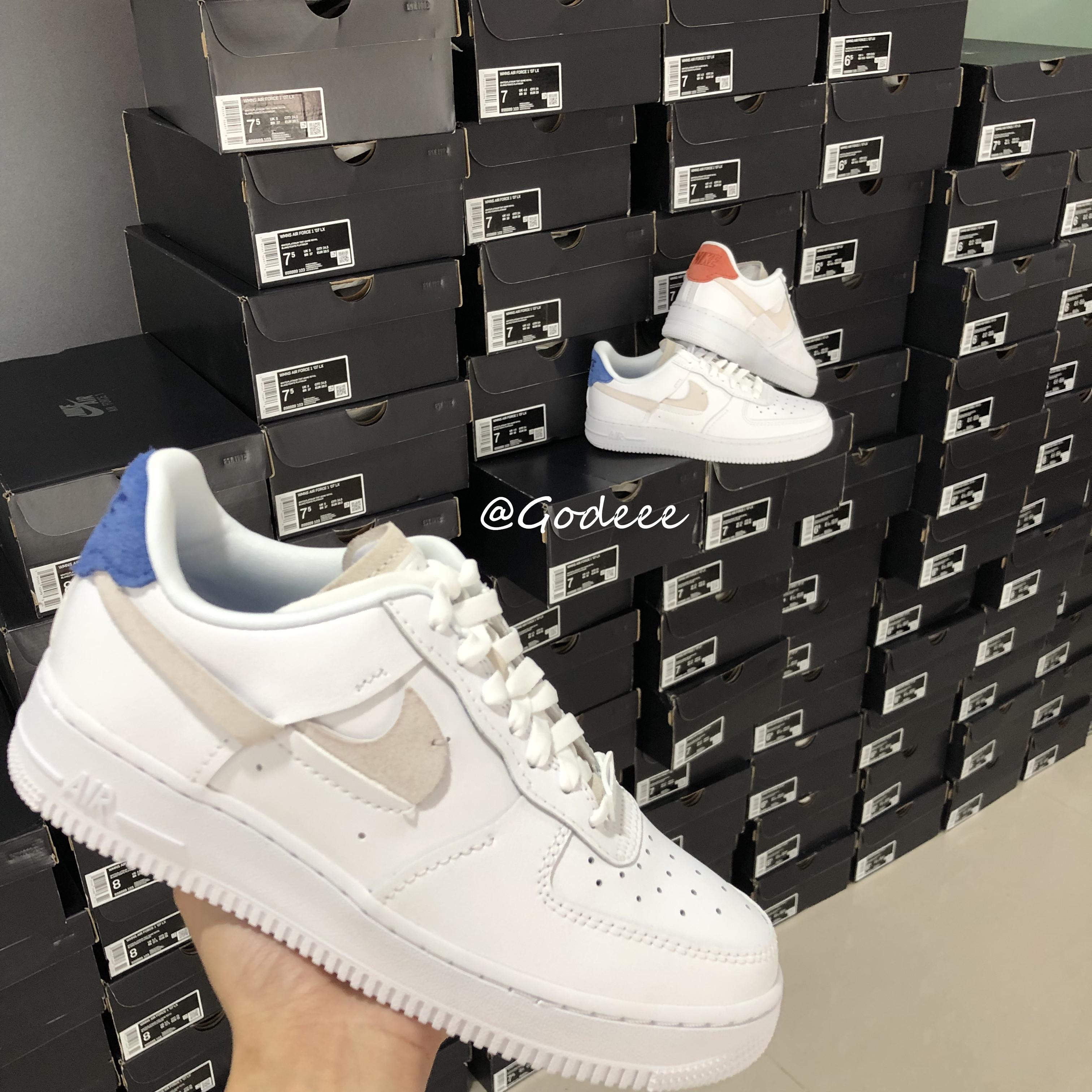 Nike Air Force 1 Inside Out AF1断钩 鸳鸯 解构空军 89
