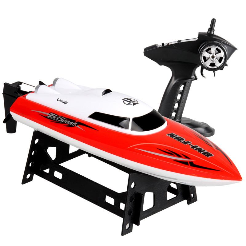环奇高速遥控船无线水冷电机快艇男孩电动玩具赛艇儿童大型船模