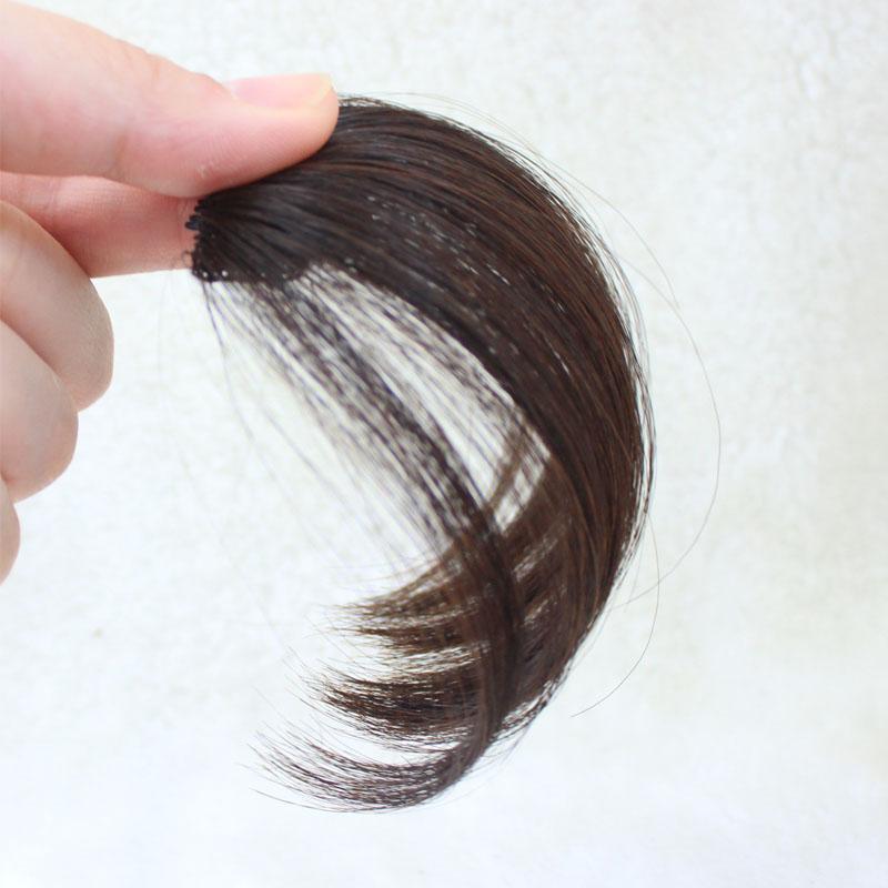 朵丝真发空气刘海假发女自然无痕超薄隐形网红假刘海齐留海假发片