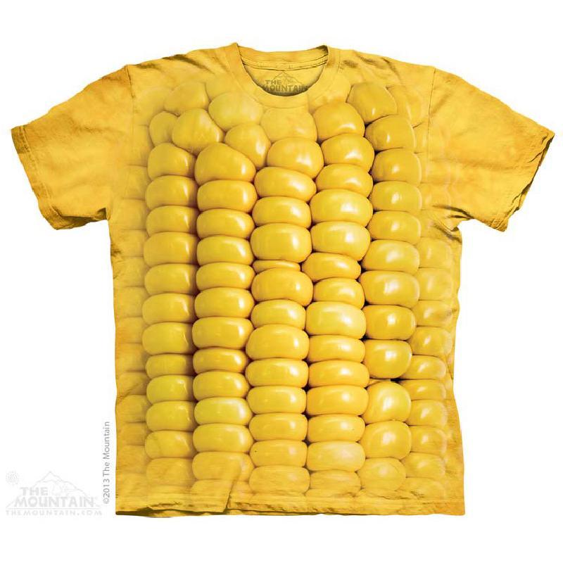 The Mountain 3D玉米粒 情侣款T恤 69元包邮插图