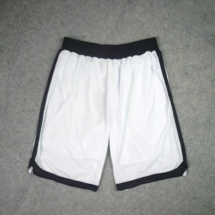 灌籃高手隊服山王工高網眼刺繡籃球服網眼配套運動短褲籃球褲白色