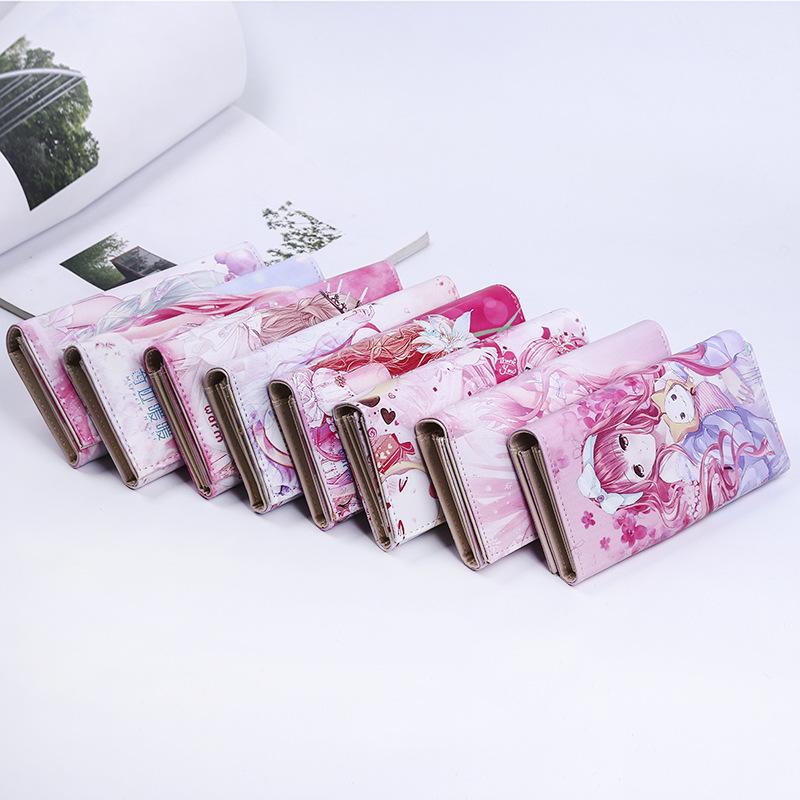 韩版可爱零钱包卡通奇迹暖暖公主动漫周边娃娃女孩卡通彩印学生