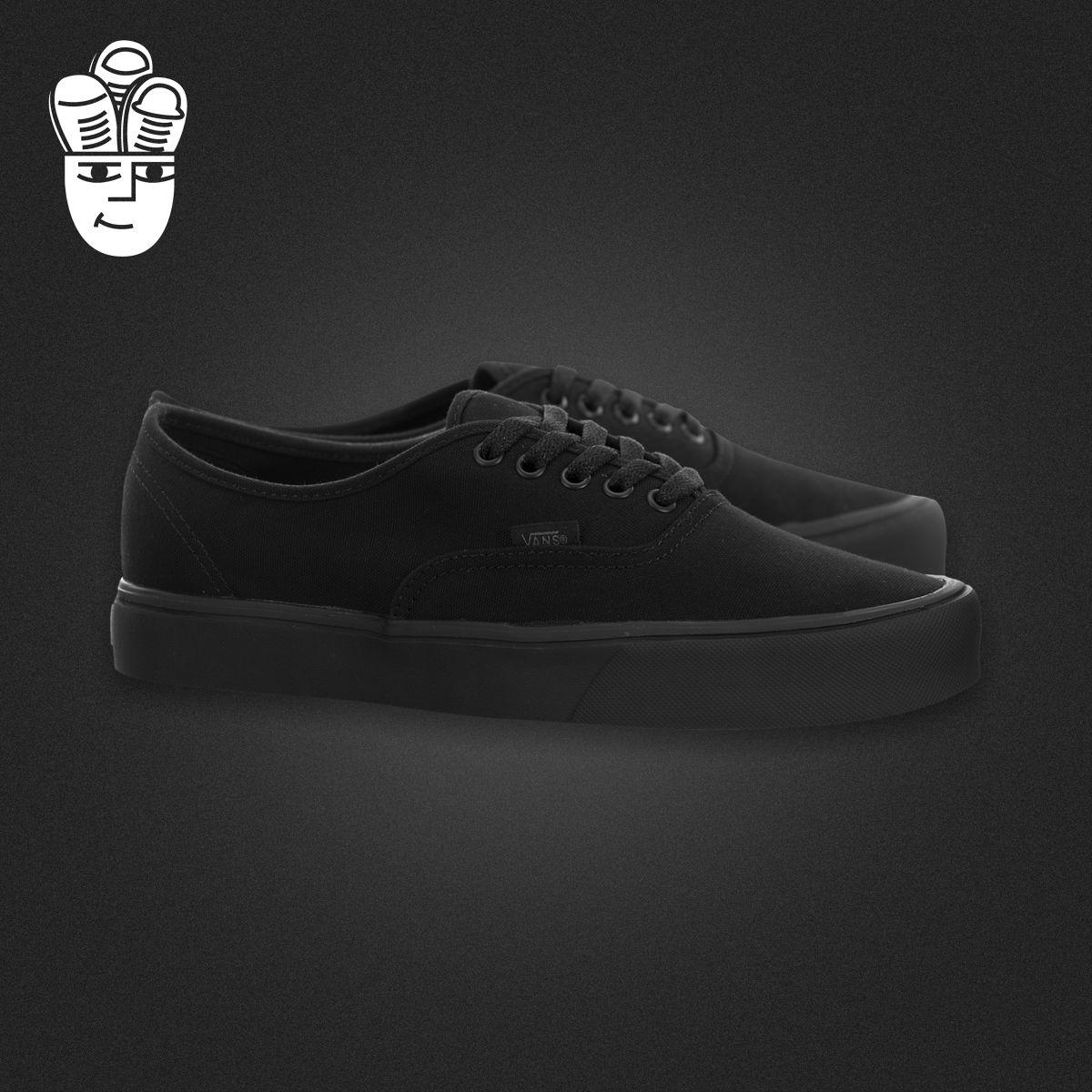 Vans Authentic Lite 范斯男鞋 经典款 低帮休闲板鞋 帆