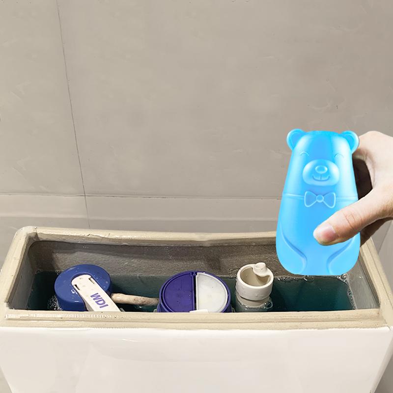 第二代小熊蓝泡泡洁厕灵