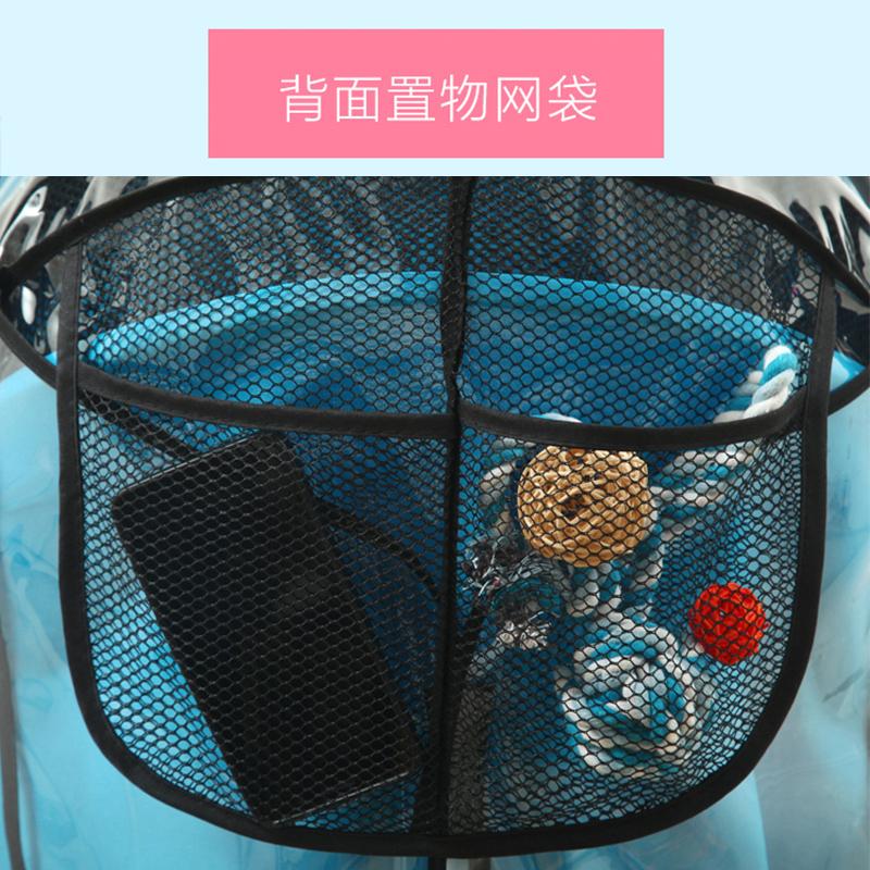 婴儿推车雨罩bb儿童车防风防雨防尘罩雨衣通用挡风保暖罩冬天雨棚