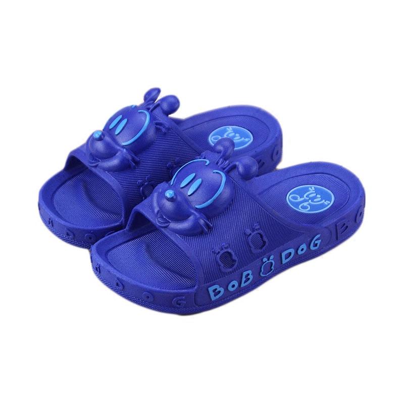 巴布豆宝宝男女童凉鞋夏季1-6岁5小孩学生穿凉拖鞋儿童防滑凉拖鞋主图