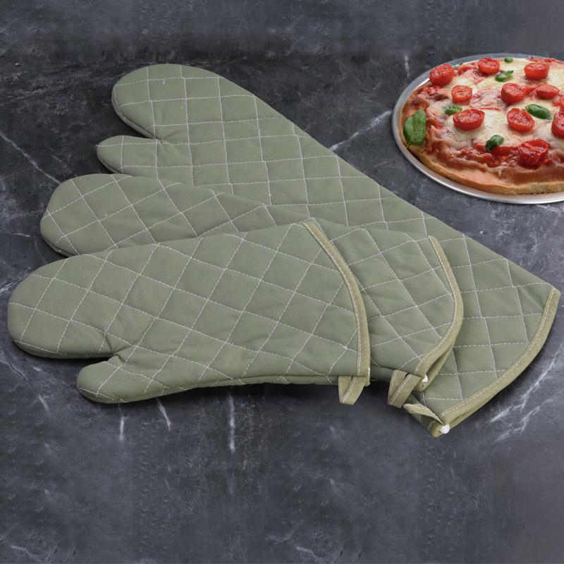 微波炉隔热手套 厨房烘焙烤箱用防烫耐高温手套 加厚加长