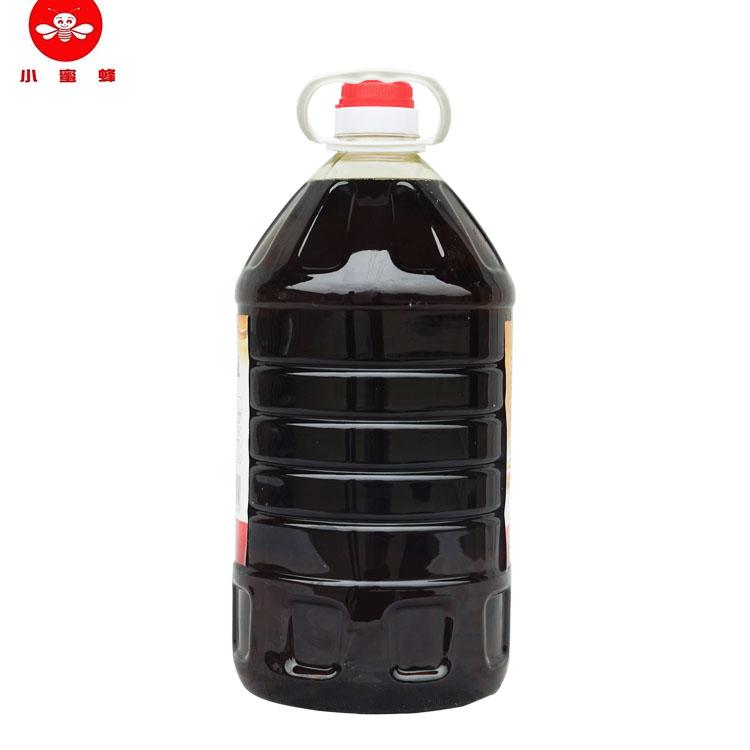 小蜜蜂浓香纯菜籽油农家自榨 物理压榨食用油5L装