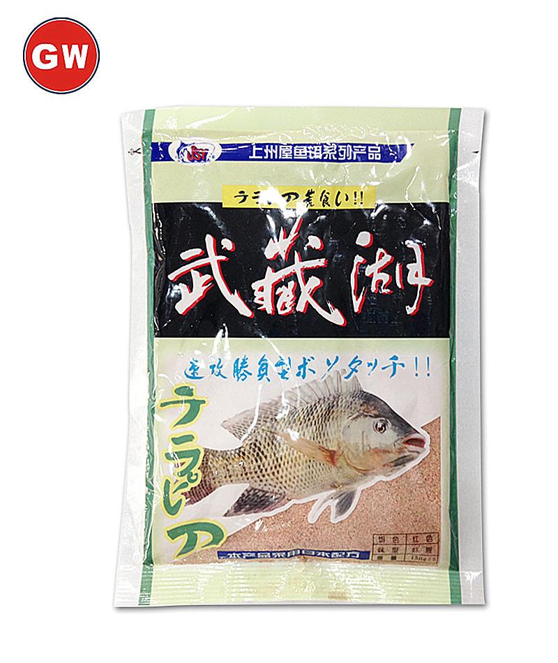 光威魚餌 上州屋 武藏湖 蝦味 蝦腥味 福壽餌 羅非餌 魚餌
