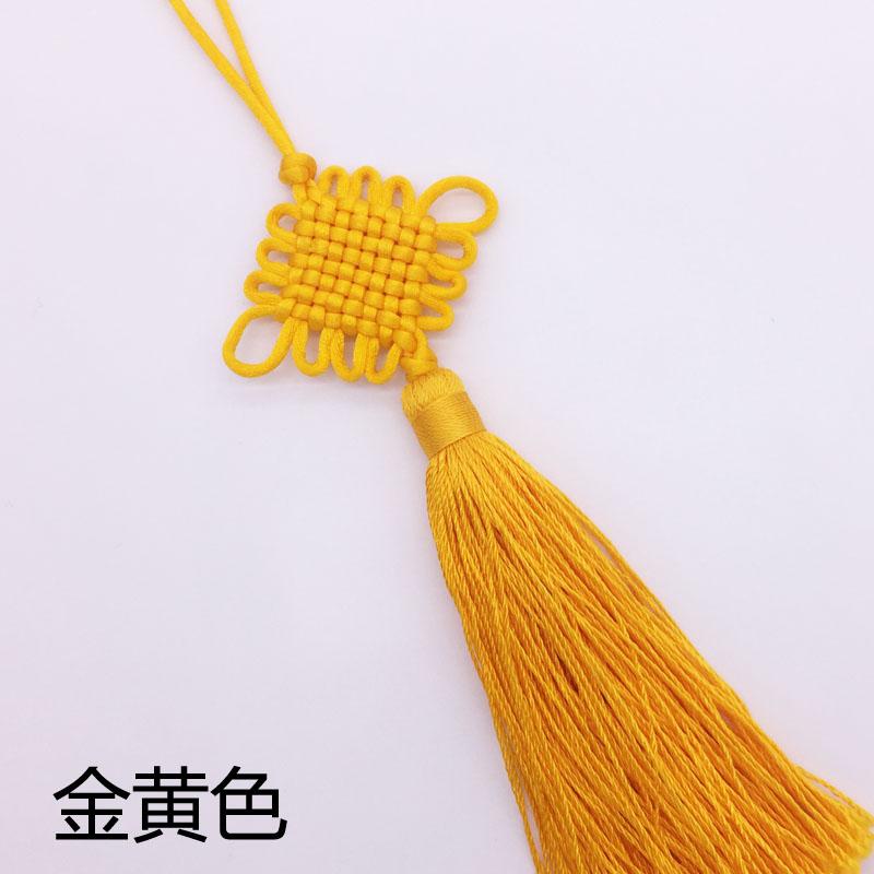 北京礼物特色手工艺品丝线中国结送老外出国小礼品5#八盘冰丝穗