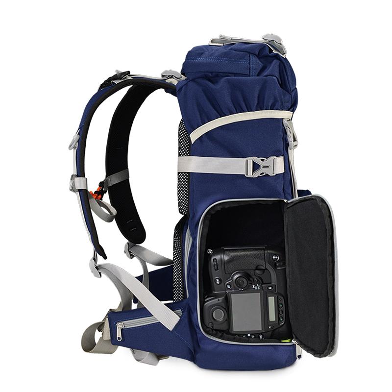 TUBU摄影包双肩户外单反佳能包80D摄影相机包大容量专业双肩包男