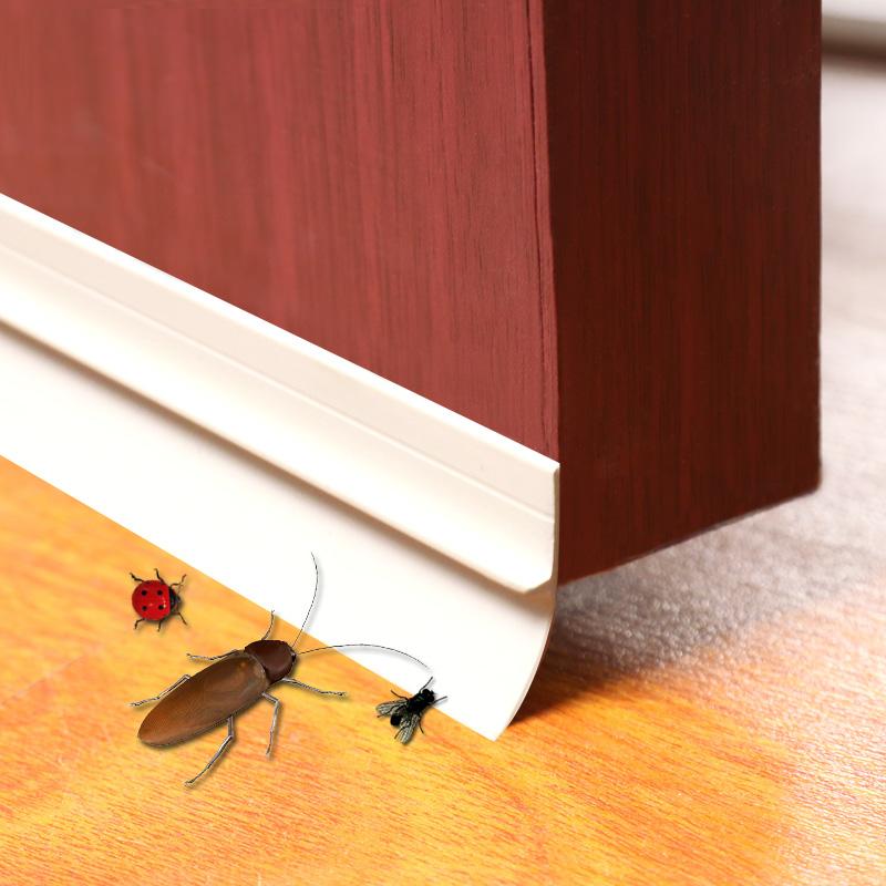 门缝门底密封条自粘型隔音条防盗门窗玻璃门缝密封条防风防水贴条